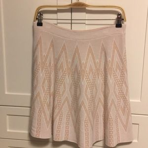 BCBG maxazria fancy skirt